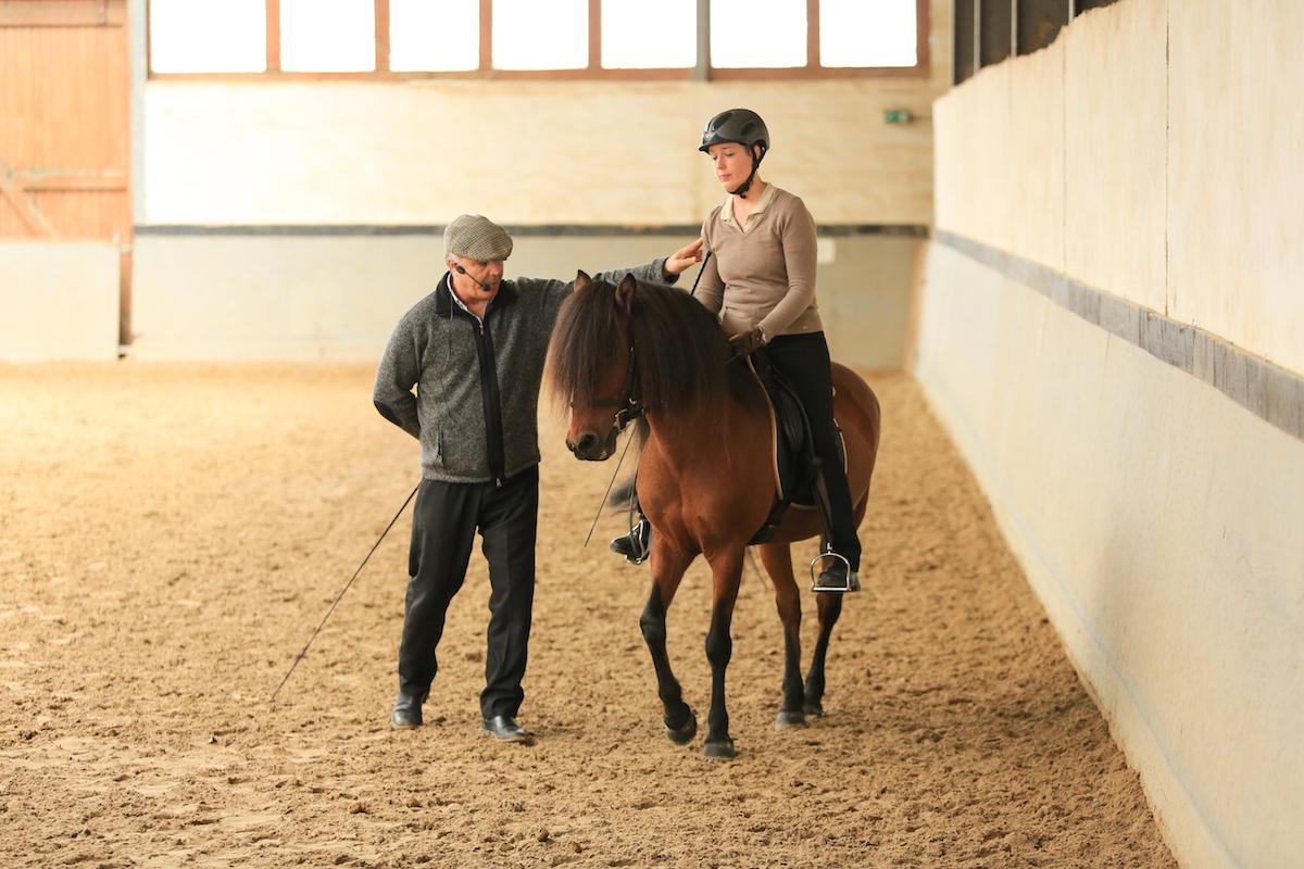 Andrea Lipp mit Stjarna und Manuel Jorge de Oliveira - Foto: Sven Cramer