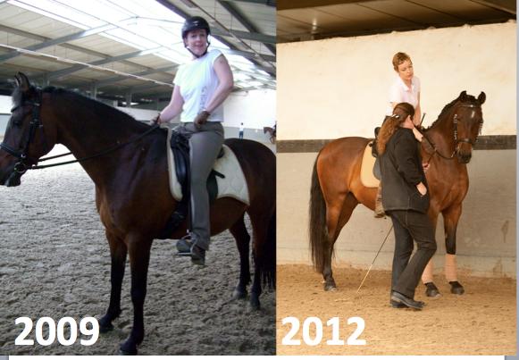 Pardo kurz nach dem Kauf im Jahr 2009 und 3 Jahre später im Sommer 2012